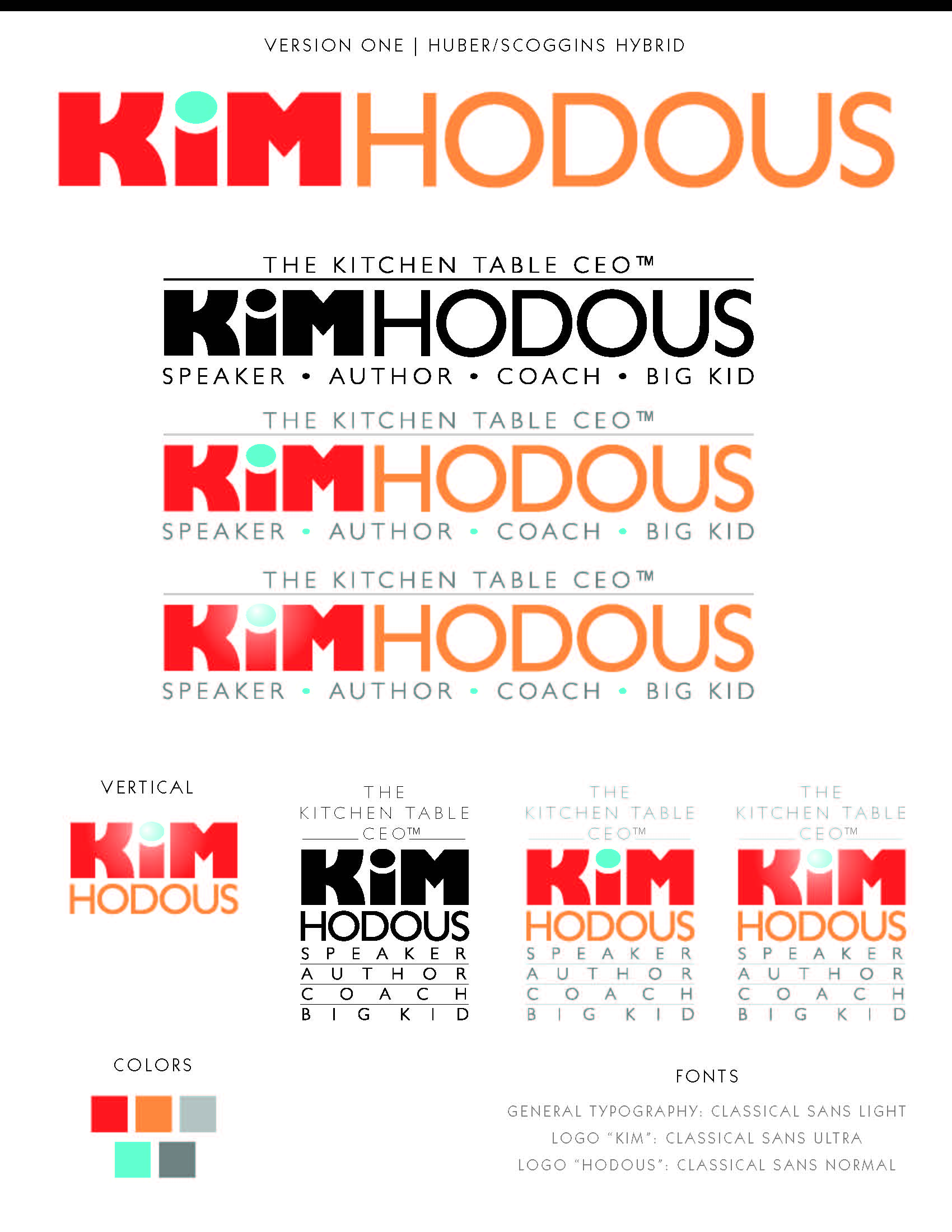 Kim Hodous Graphic Design