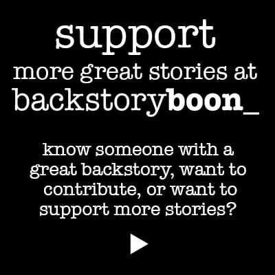Link to support page to support great stories by sharing, contributing or supporting
