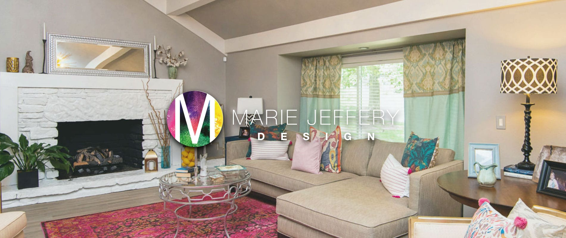 Marie Jeffrey Design Project Header